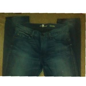 """Seven for all mankind """"slimmy"""" jeans"""